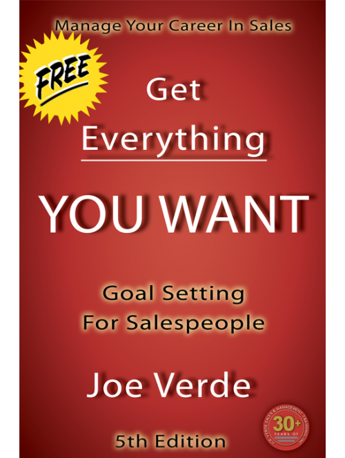 01 MANAGE YOUR CAREER IN SALES GOAL SETTING FOR SALESPEOPLE
