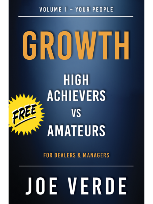 00 GROWTH - HIGH ACHIEVERS VS AMATEURS VOLUME 1 - YOUR PEOPLE