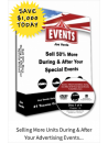 33 Selling More Units During & After Your Advertising Events 4-DVD Set