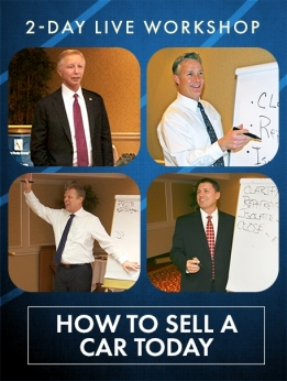 26 2-DAY HOW TO SELL A CAR TODAY WORKSHOP