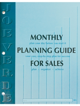 Sales Monthly Planning Guide Cover