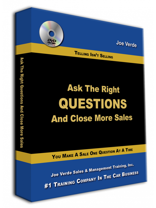 36 Ask The Right Questions & Close More Sales - 2-DVD Set