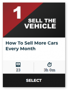 77 On Demand - How To Sell More Cars Every Month (60-Day Online Access)