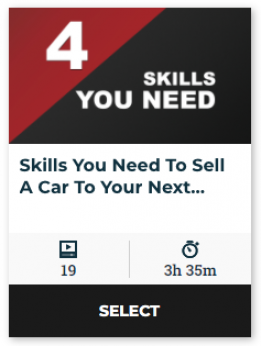 80 On Demand - Skills You Need To Sell A Car To Your Next Customer (60-Day Online Access)