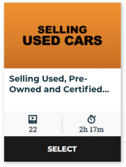 86 On Demand - Selling Used, Pre-Owned and Certified Vehicles (60-Day Online Access)