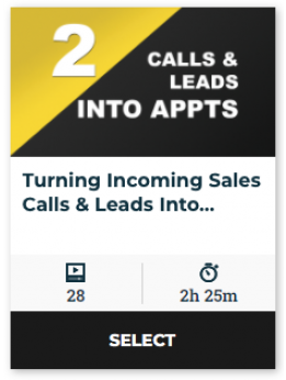 82 On Demand - Turning Incoming Calls Into Appts That Show (60-Day Online Access)