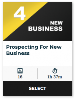 84 On Demand - Prospecting For New Business (60-Day Online Access)