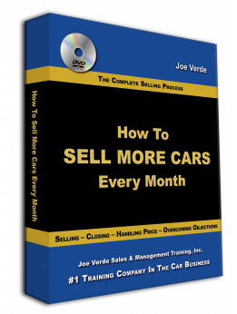 34 How To Sell More Cars Every Month - 4-DVD Set